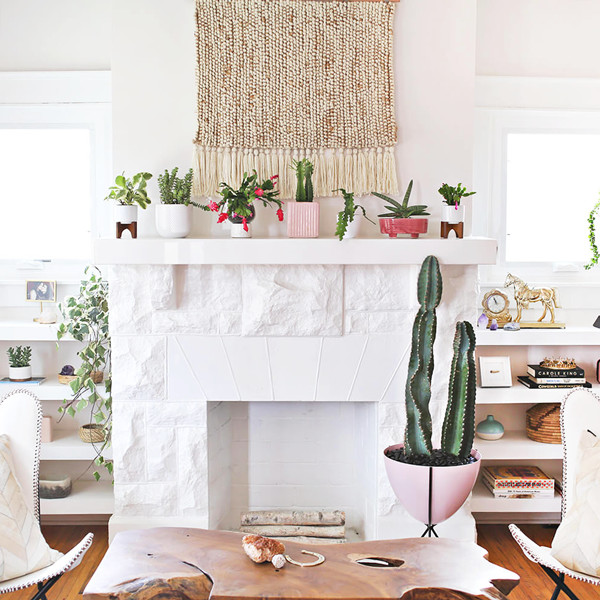 See Kacey Musgraves' Pink Living Room Makeover