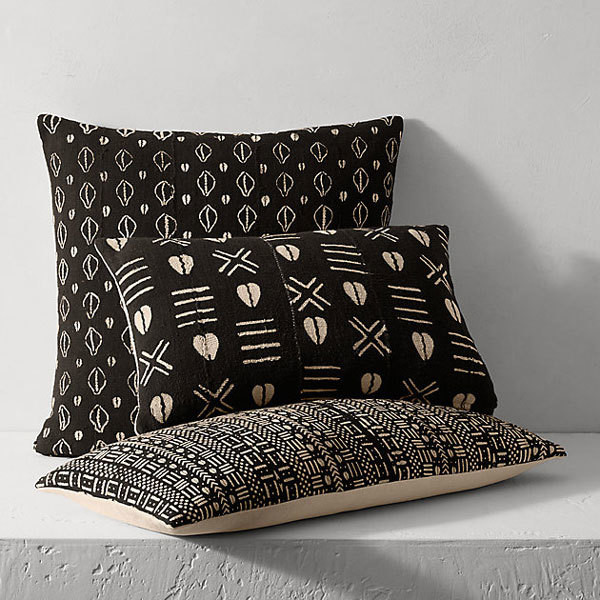 African Mudcloth Pillows - 15 Things You Need To Add A Little Boho ...