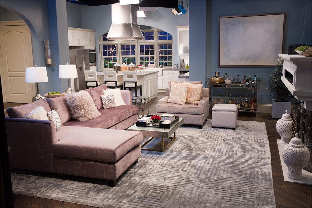 Coffee Table By Jonathan Adler; Lamps By Ethan Allen; Sofa And Chair By Sofa