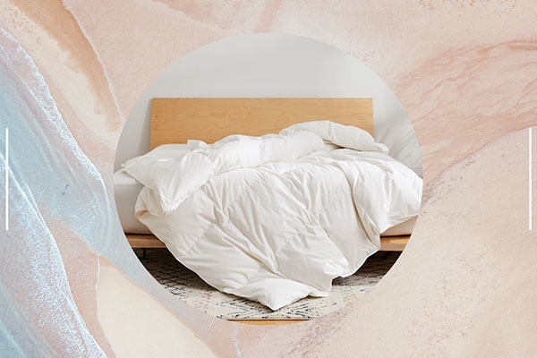 Brooklinen Just Relaunched The Coziest Comforter