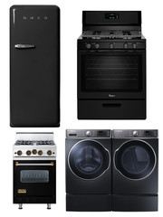 Black is the New Stainless Steel