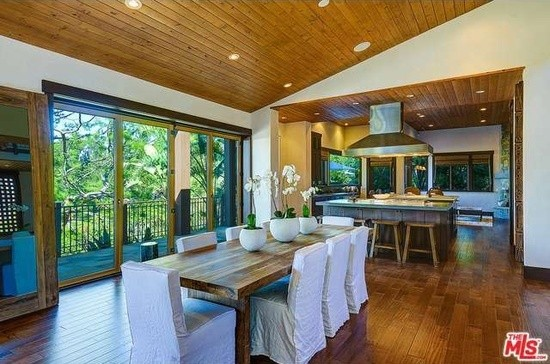 Pink and Carey Hart's Dining Room