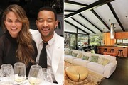 John Legend and Chrissy Tiegen's Hollywood Hills Home