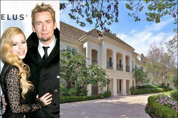 Avril Lavigne and Chad Kroeger Buy a $5.4 Million House in L.A.