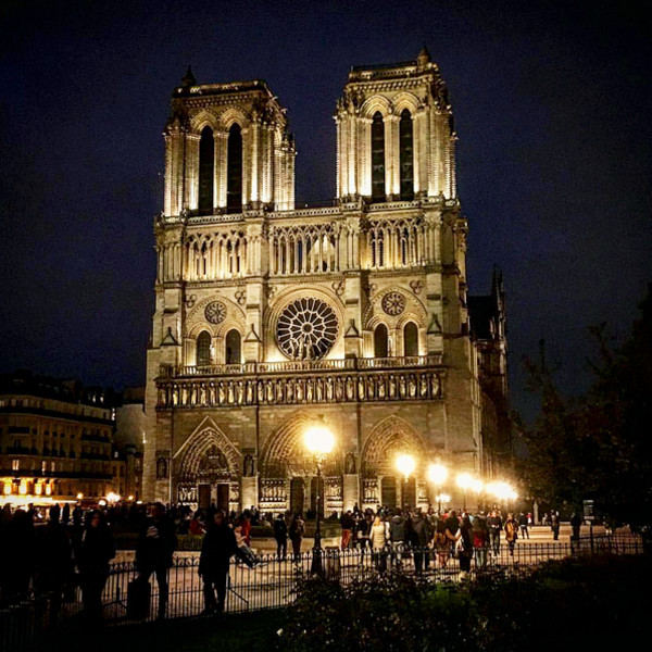 17. Notre Dame Cathedral: Paris, France
