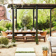 Julianne Hough's Patio