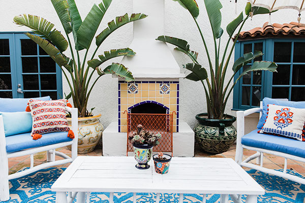 Pattern Rules In This Textured, Tiled L.A. Pad