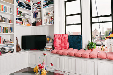 This Fashion Editor's SoHo Apartment Is A Stylish Burst Of Color