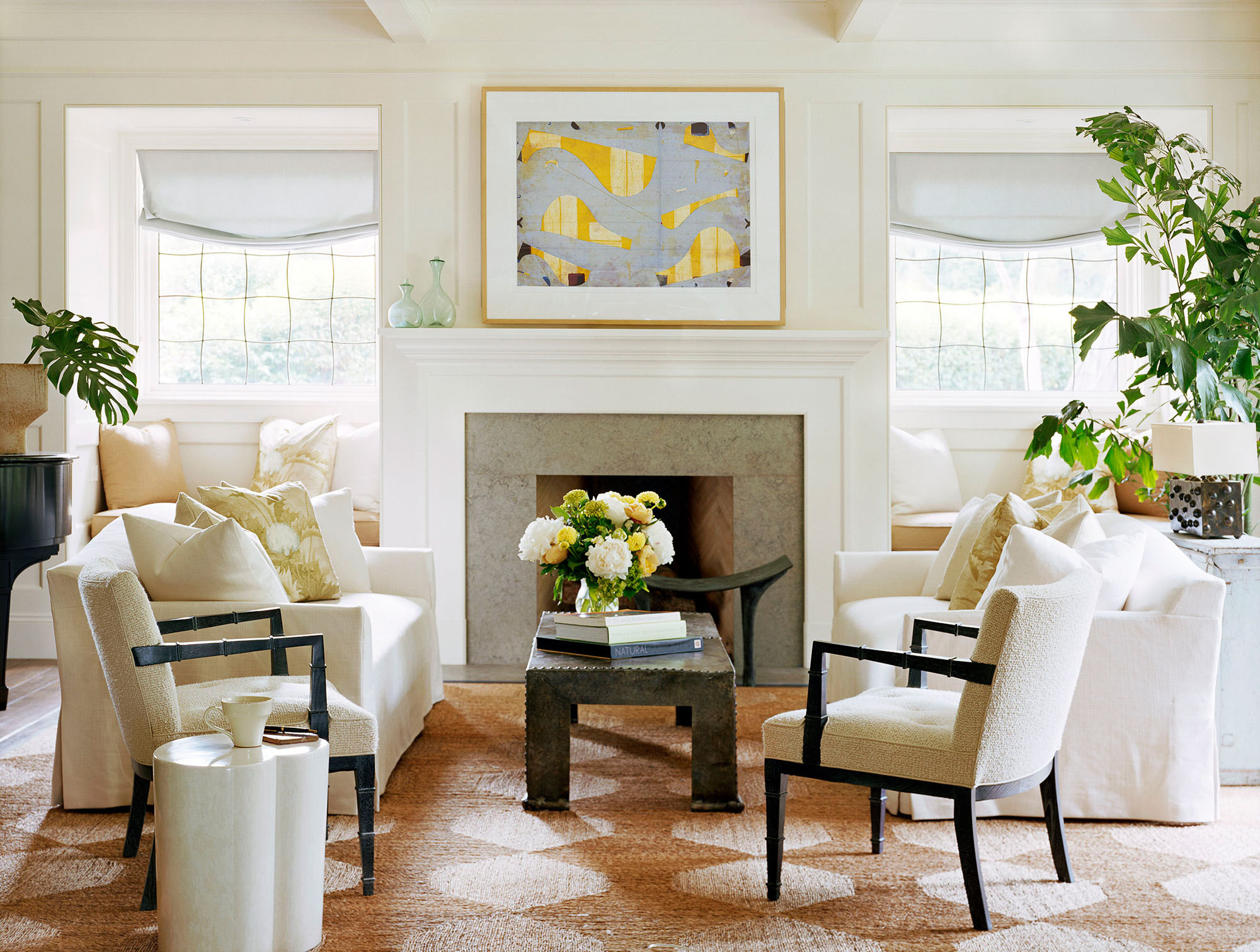 For A Decorative Architectural Element In A Woodside, California, Home,  Designer Will Wick