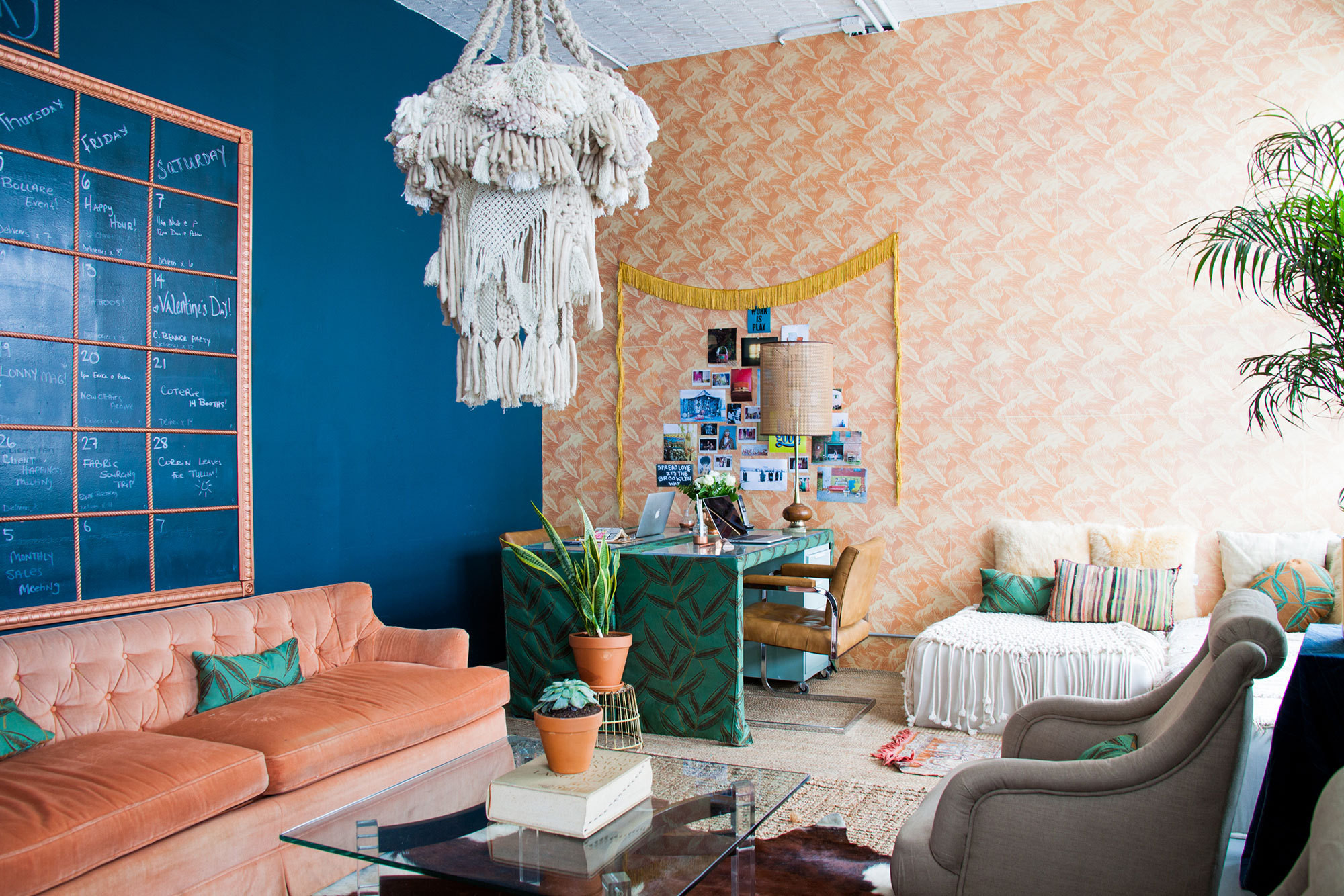 Before & After: A Creative Workspace Filled with Vintage ...