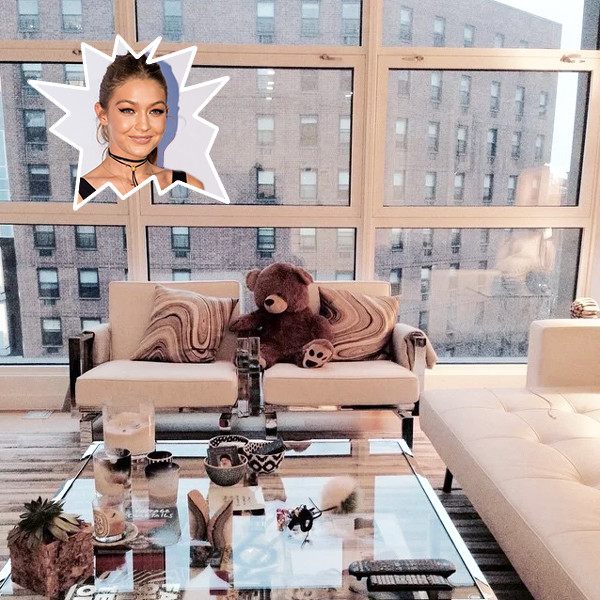 Gigi Hadid's Seating Space