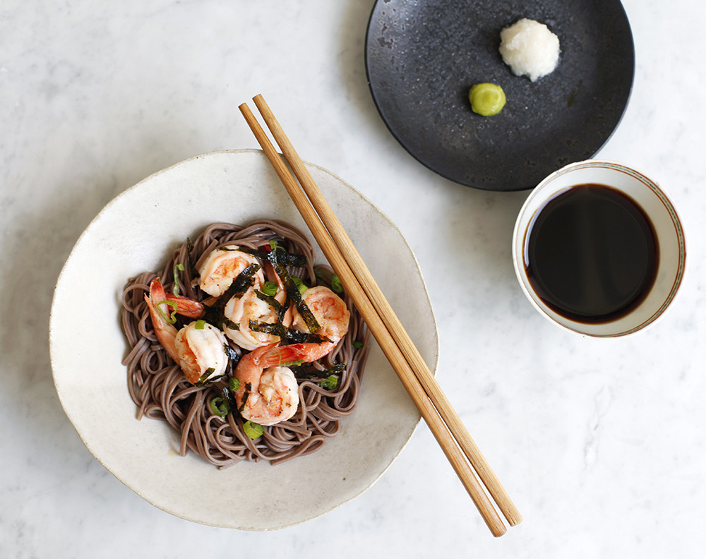A Cold Soba Noodle Recipe For Hot Summer Nights | Lonny.com