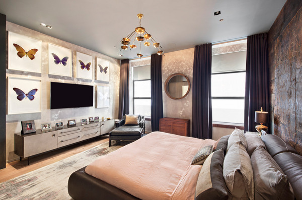 John Legend and Chrissy Teigen's Bedroom