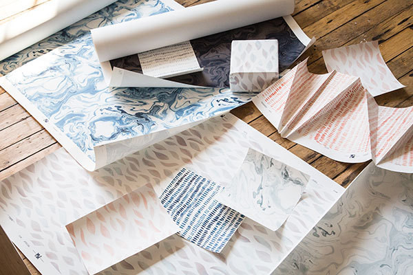 Rebecca Atwood's New Wallpaper Collection Is Like a Dream