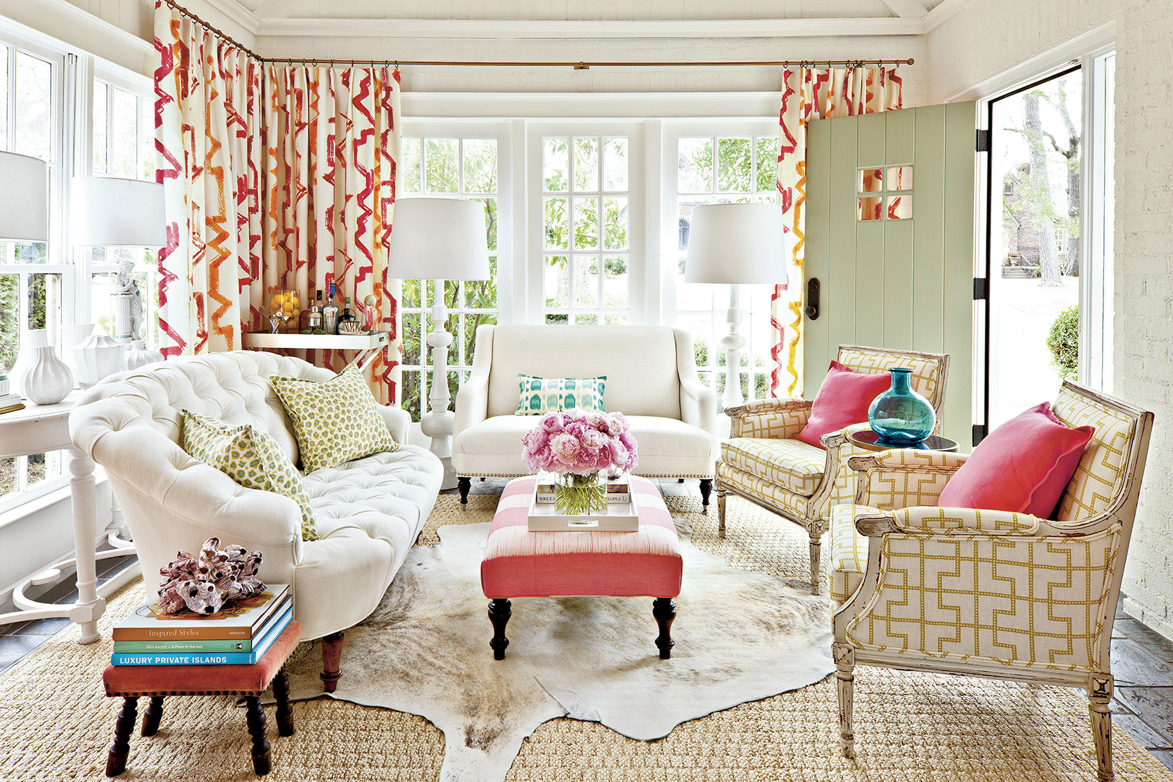 Living Room Decorating Southern Style the essentials of southern girl style decorating lonny laurey w glennsouthern living