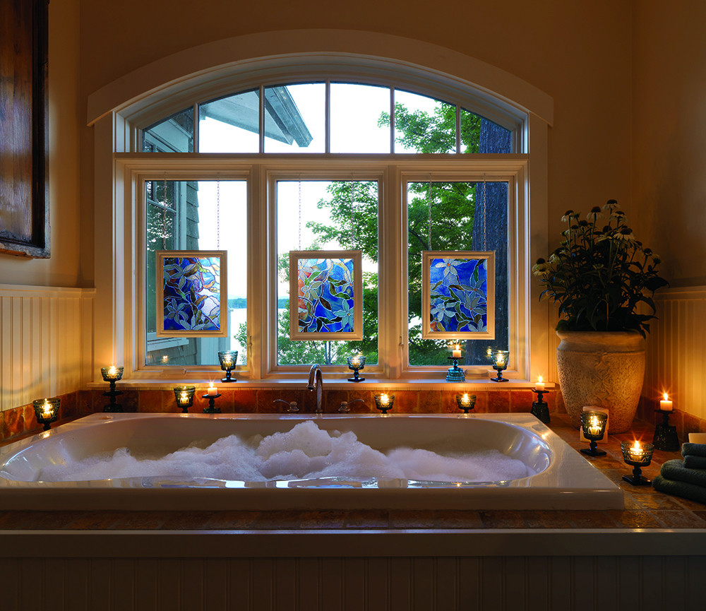 Stained Glass Privacy Windows Do It Yourself Projects
