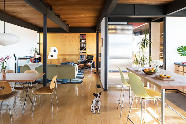 This Textile Designer's East L.A. Home Is A Mid-Century Marvel