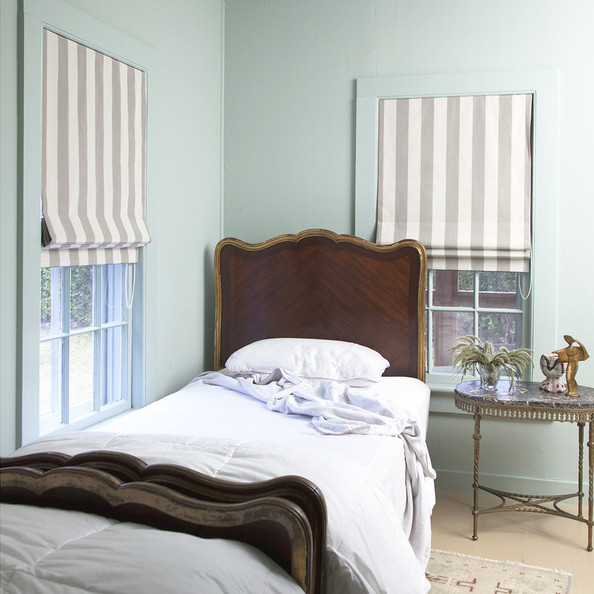 Michelle Smith roman shades | Lonny.com
