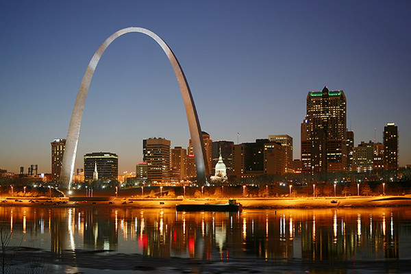 9. St. Louis, Missouri