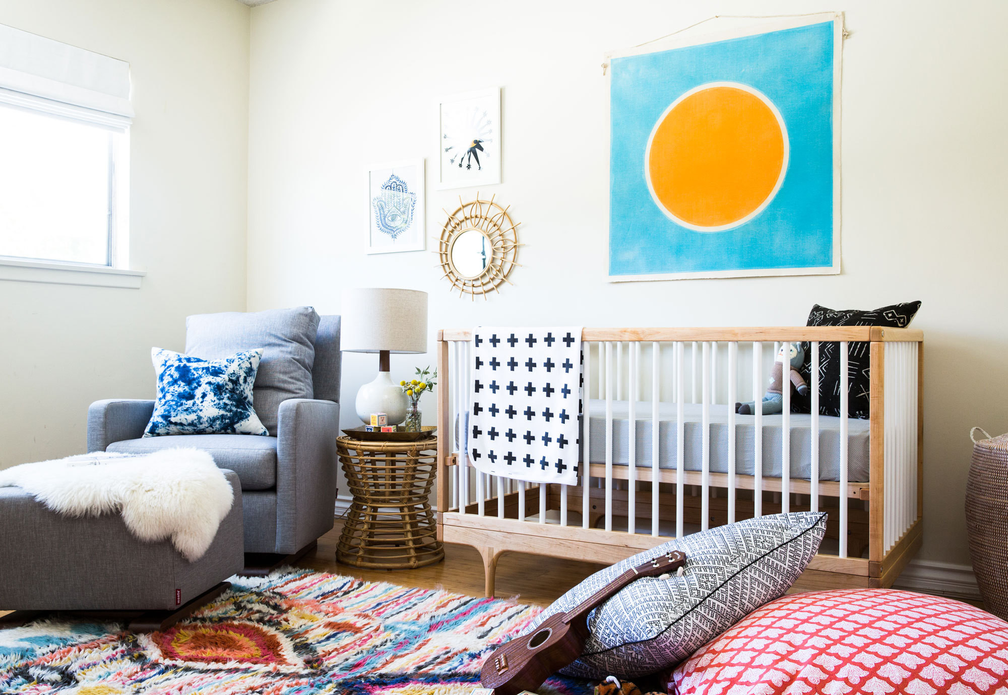 Before & After: A Colorful Nursery in Southern California - Family ...