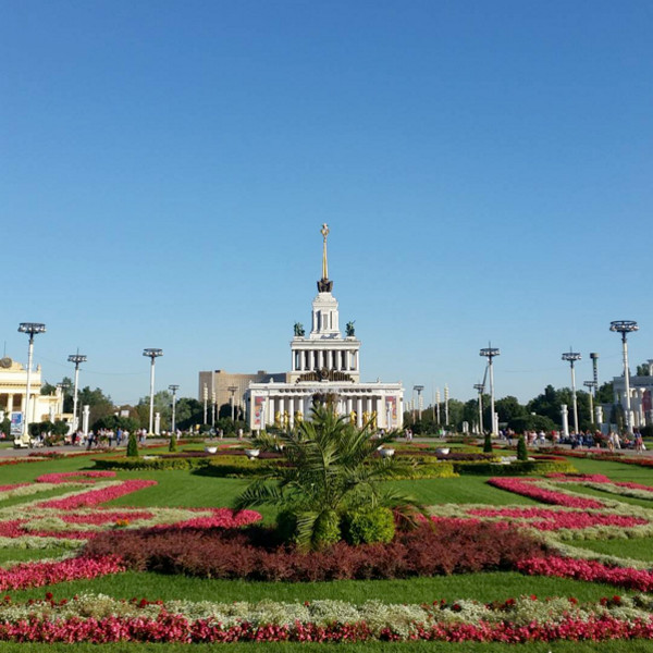 10. VDNKh: Moscow, Russia