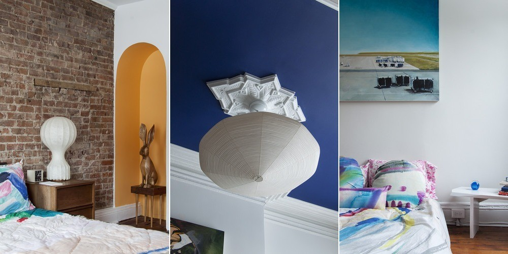 Small touches such as fabric, paint, and artwork have a profound effect in this turn-of-the-20th-century residence.