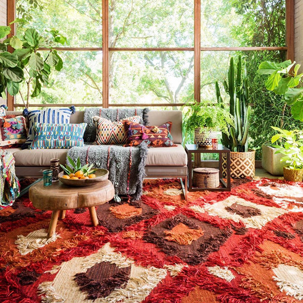 How To Pull Off A Boho Bungalow When It's No Longer Summer