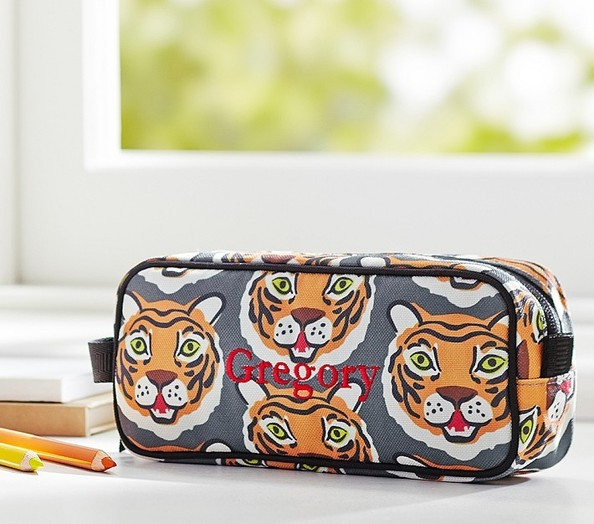 The Tiger Face Cosmetic Case Back To School Decor Adults