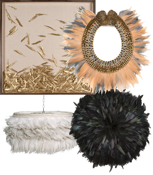 Hot Trend: Feathers