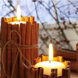 Cinnamon Stick Candles