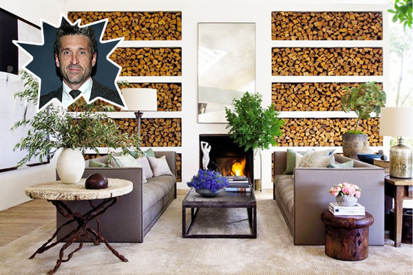 Patrick Dempsey's Natural Living Space