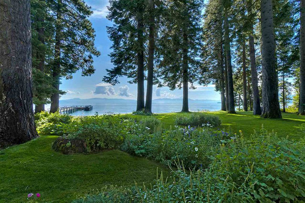 What A View - Inside Mark Zuckerberg's $59 Million Lake Tahoe Compound - Lonny