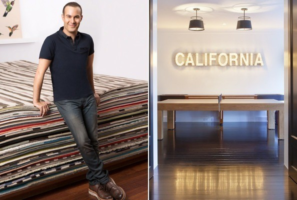 Photos by Stephen Busken and James Ray Sphan)Name: Adam Hunter Occupation: Interior  designer. Resides in: Los Angeles