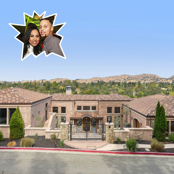 Steph & Ayesha Curry Are Selling Their $3.19 Million Estate