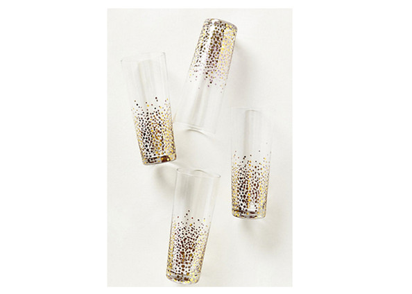 Champagne Bubbles Glasses by Anthropologie