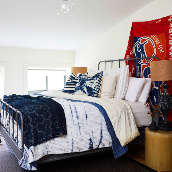 10 Rooms That Take Red, White, & Blue To The Next Level