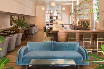 This New Wine Bar Is A Pastel Modern Dream