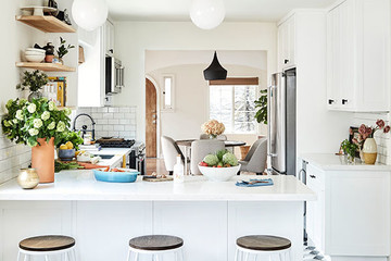 We're In Love With This Entrepreneur's Sunny SoCal Kitchen