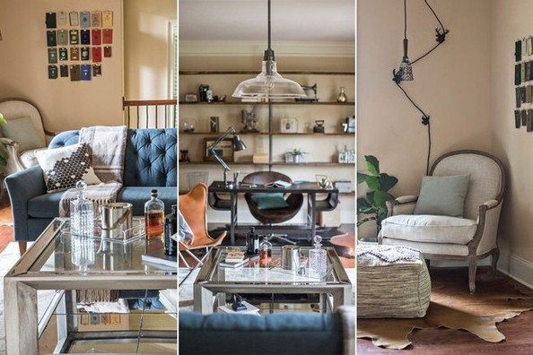 Anatomy of a Room: A Worldly Bachelor Pad