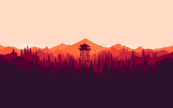 Firewatch by Olly Moss
