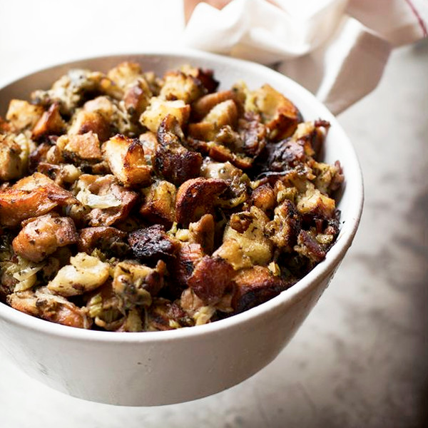 Oyster And Brioche Stuffing