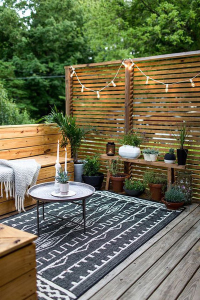 Add An Outdoor Rug