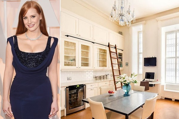 Jessica Chastain's $5 Million Apartment