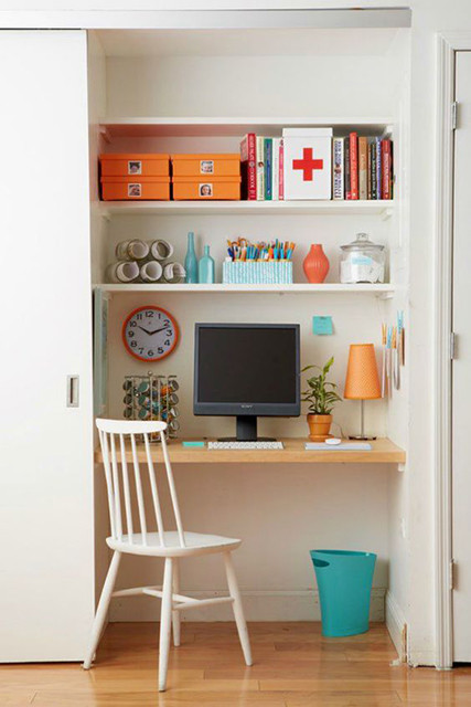 pick a palette the cloffice aka the ultimate small space