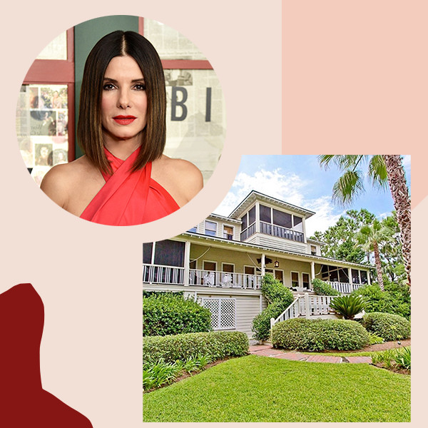 Explore Sandra Bullock's Oceanfront Home On Georgia's Tybee Island
