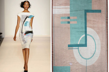Wear Our Rugs: Runway Pairings from Doris Leslie Blau