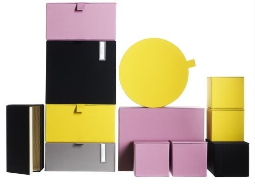 The Colorful Storage Boxes
