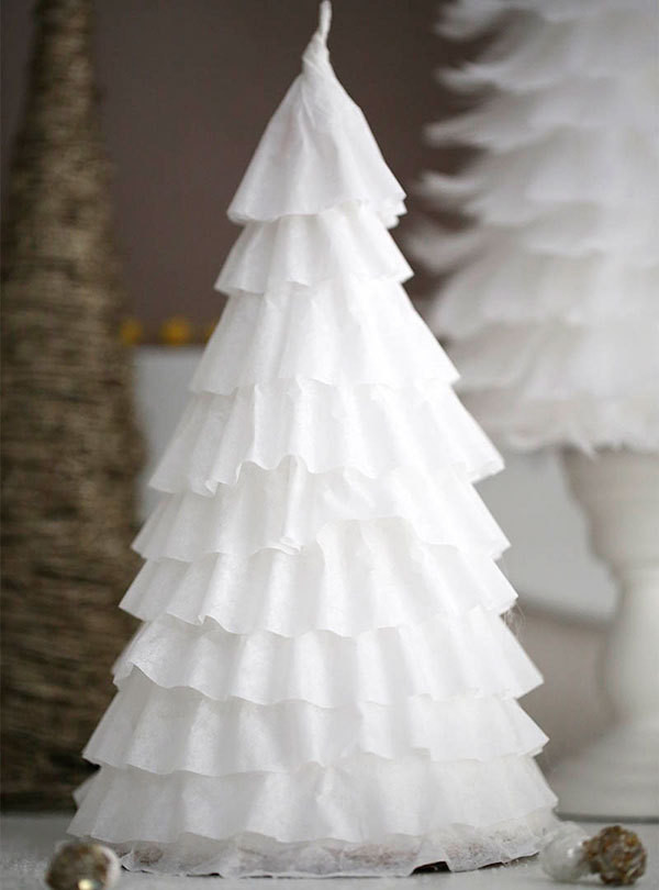 4 Crafty Holiday Hacks with Coffee Filters