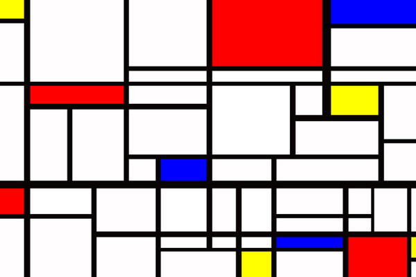 Mondrian's Composition