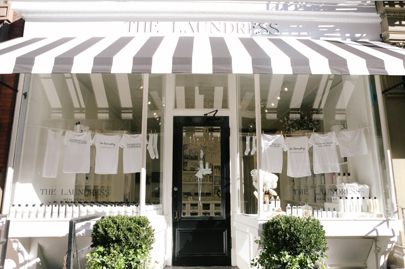The Laundress's new flagship store in New York City, located at 199 Prince Street in SoHo.